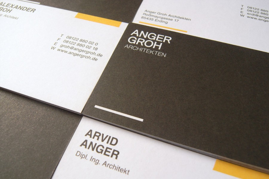Anger Groh Architekten by Espacioblanco / Identity, Print